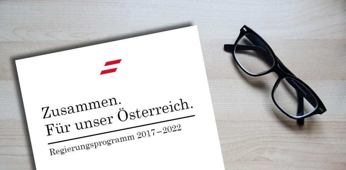 Analyse des schwarz-blauen Regierungsprogramms 2017–2022 | epicenter ...